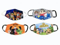 GOOFFI 7 Fashionable & Printed Cloth Mask (Pack of 4)