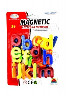 Magnetic Learning Small Letters Alphabet (Multicolour) (26 Pieces In Package)