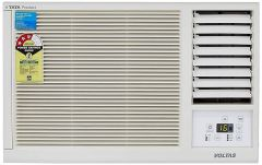 Voltas 123 Lyi/123 LZF 1 Ton 3 Star Window AC 100% Copper Coil with Turbo Cooling | High Ambient Cooling | Active Dehumidifier | 2 Stage Filtration Advantage | Self Diagnosis (White)