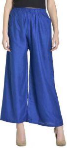 GOOFFI Stylish And Fashionable Women Rayon Trousers | Solid Pattern