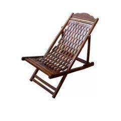 Wooden Folding Garden Lawn Gutka Chair Relaxing Chair   Best Easy Chair for Garden   (Standard Size)