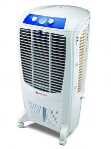 BAJAJ DC2016 Room Air Cooler with Turbo Fan Technology | Powerful Air Throw | 4-Way Air Deflection | 3 Speed Control | Ice Chamber (67 Liters)