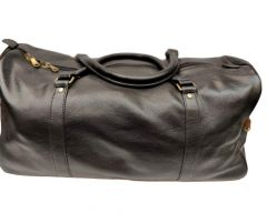 Elegant Exclusives Designer Leather Duffle Bag | Gym Bag | Travel Tote Bag With Top Handle For Men's and Women's