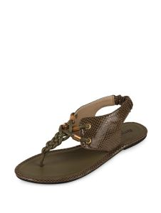 Sakhicollection Latest Fashionable Synthetic Flat Sandals For Women