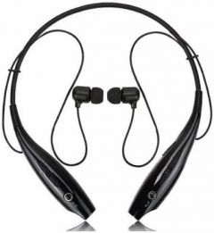 Falcon HBS Bluetooth Wireless Earphone Great Sound With Microphone (Black)