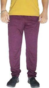 Men's & Women's Regular Fit Solid Color Side Pockets Track Pants