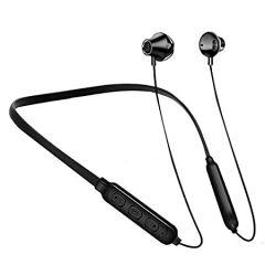 Ovista O-A10 Wireless Extra Bass In-Ear Headphones Deep Bass Bluetooth Headset (Z-Black)