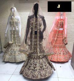 Jashikthaindustries Stylish & Fashionable Beautiful Lehenga Choli Perfect Choice For Women's (Dupatta Fabrics Butterfly-Net)