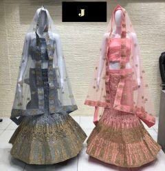 Jashikthaindustries Stylish & Fashionable Beautiful Lehenga Choli   For Women's (Ghera 3+)