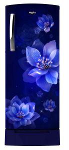 Whirlpool Icemagic Pro Series 200 Liters 4 Star Rated Intelli-Sense Inverter Technology Refrigerator (Blue)