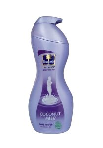 Parachute Body Lotion for Extra Dry Skin with Natural Ingredients (Coconut Milk) | (400ml Bottle)