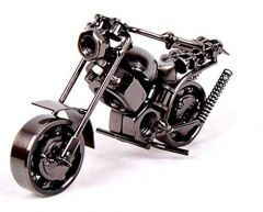Iron Mini Bike for Home Décor (5x3-inches Silver) Its durable and very amazing Most of our metal handicrafts are of superb quality and look