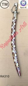Groom Sword Wooden Cover With Decortaive Stone Work For Decoration Devotinal Funcationor Marriage Purpose