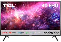 TCL 2020 Model 40S6500FS Full HD Smart Certified Android LED TV with A+ Grade Full HD Panel | HDR 10 | Screen Mirroring | Micro dimming | Dolby Audio & Built-in Stereo Box Speaker (40 inches, Black)