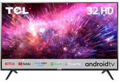 TCL 32S6500S HD Ready LED Smart TV with A+ Grade Full HD Panel | HDR 10 | Screen Mirroring | Micro dimming | Dolby Audio & Built-in Stereo Box Speaker (32 inches, Black)