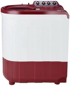 Whirlpool 8 kg Ace Super Soak 5 Star Semi-Automatic Washing Machine with Super Soak Technology (Maroon)