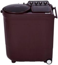Whirlpool 8 Kg Ace Turbo Dry Technology 5 Star Rated Semi-Automatic Washing Machine with 2x Drying Power (Wine)