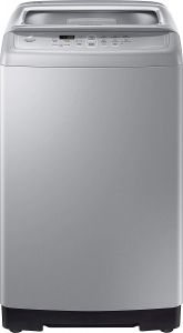 Samsung WA62M4100HY/TL 6.2 kg Fully-Automatic Top-loading Washing Machine Center Jet Technology with Diamond Drum (Silver)
