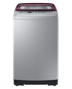 Samsung WA70A4022FS/TL 7.0 Kg Fully-Automatic Top Loading Washing Machine Wobble Technology with Diamond Drum (Silver)