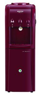 Voltas 500 Watt Mini Magic Pearl R Plastic Floor Mounted Water Dispenser with Cooling Cabinet (Maroon)