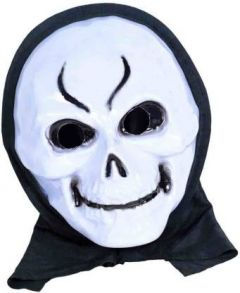 PTCMART Ghost Plastic Costume Mask, Party Mask(Multicolor, Pack of 1)