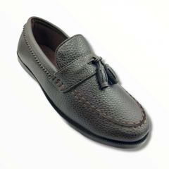 Trendy Goose Formal Loafers Shoes (Brown)