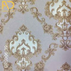 Traditional Wallpaper Used In Interior Decoration With Multi-Color And Unique Designs | (GR0306-39)