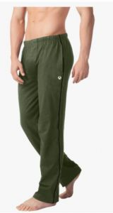 Essardistributor Stylish & Fashionable Straight Fit 100% Cotton Fabric Striped Full Length Trackpants For Men (Pack of 1)