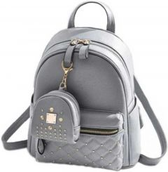 Zoya Collection New Arrivals, Stylish Design Waterproof Backpack for girls (Grey | 5 L)