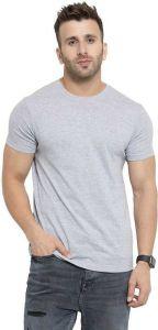 Men's Stylish & Fashionable Final Way Short Sleeve Crew Neck Rib Knit Top T-Shirt  (Pack of 1)