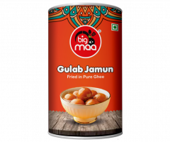 Big Maa Assorted Indian Sweets Delicious Gulab Jamun (500 G) (Pack of 1)