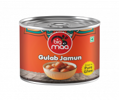 Big Maa Assorted Indian Sweets Delicious Gulab Jamun (200 G) (Pack of 1)
