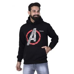 Pezoporo   Full Sleeve Hoodie  Winters  Night Highways long drive   Blue colour