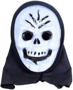 PTCMART Halloween 5 line Design Look Theme Party Mask for Fun Party Mask(Multicolor, Pack of 1)
