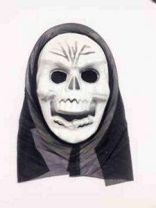 PTCMART Halloween Costume Party Theme Party Mask for Fun Party Mask  (White, Pack of 1)