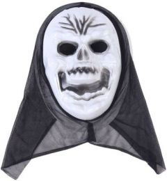 PTCMART Halloween Ghost Theme Party Mask Party Mask(White, Pack of 1)
