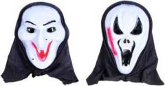 PTCMART Halloween Smile And Snake Design Look Theme Party Mask for Fun Party Mask(Multicolor, Pack of 2)