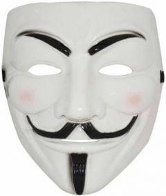 PTCMART Halloween Vendetta Mask V Party Mask(Multicolor, Pack of 1)