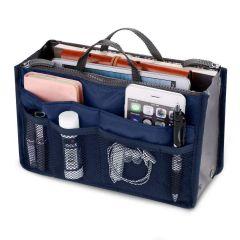 Travel Multi-Pocket Handbag Organizer Purse Insert Liner Pouch for Lady, Woman, Girls