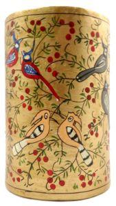 Ccic Handicraft Handicraft Paeper Machie Pen Holder 4 Inch and Colours