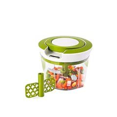 Manual 2 in 1 Handy Smart Chopper for Vegetable Fruits Nuts Onions Chopper Blender