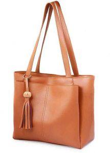 Stylish Partywear Handbags PU Leather Shoulder Handbag For Women