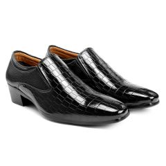 Bxxy's Men New Arrival Height Increasing Faux Leather Material Casual, Loafer and Moccasins Shoes