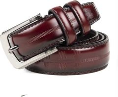 Winsome Deal Maroon Artificial Leather Casual Belt's for Men's