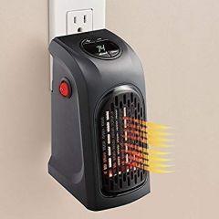 Very Portable Electric Mini Handy Heater Plug-in Wall (400w)