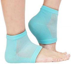 Heel Pain Relief Silicone Gel Heel Socks Multicolor