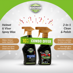 Helmet-Visor-&-2-in-1-clean-polish ( COMBO OFFER )