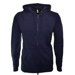 Comfortable & Fashionable Long Sleeve Hoodie For Men's & Women's (Navy Blue)