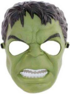 PTCMART Hulk Design Shape Face Mask For Kids (Pack of 1)
