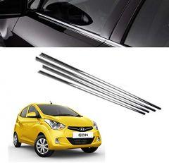 After Cars Hyundai Eon Car Window Lower Chrome Garnish